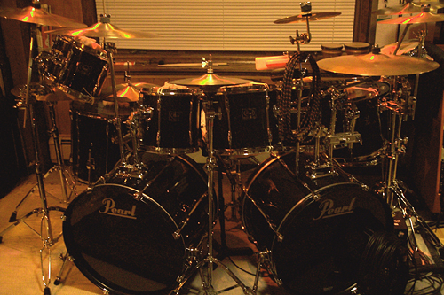 I Finally Got My Second Bass Drum Set Up With The Rest Of Kit And Heres A Pic Complete Setup